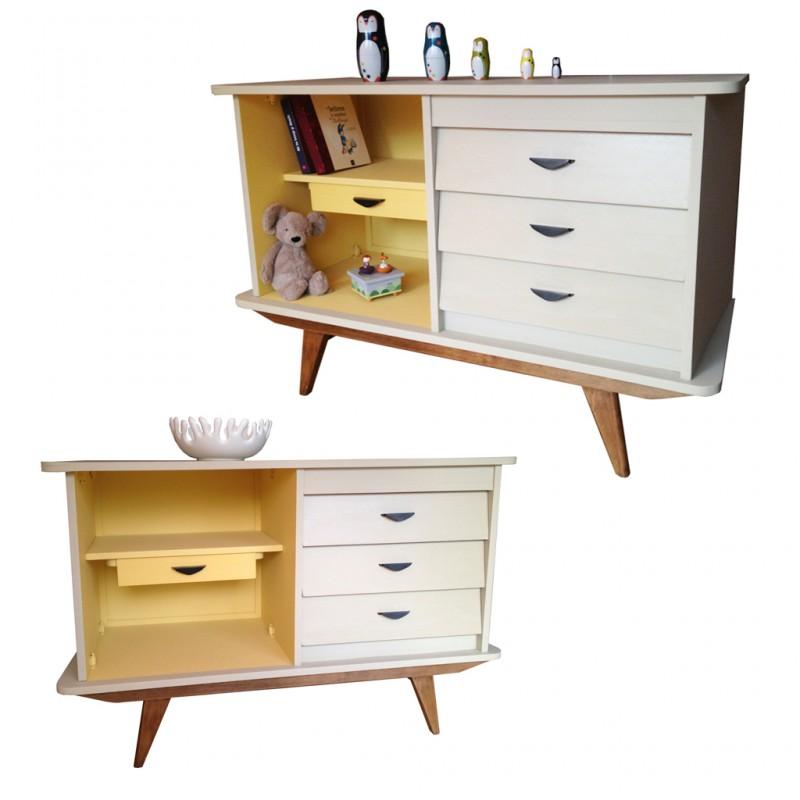 commode ann e 60 r tro boutique. Black Bedroom Furniture Sets. Home Design Ideas