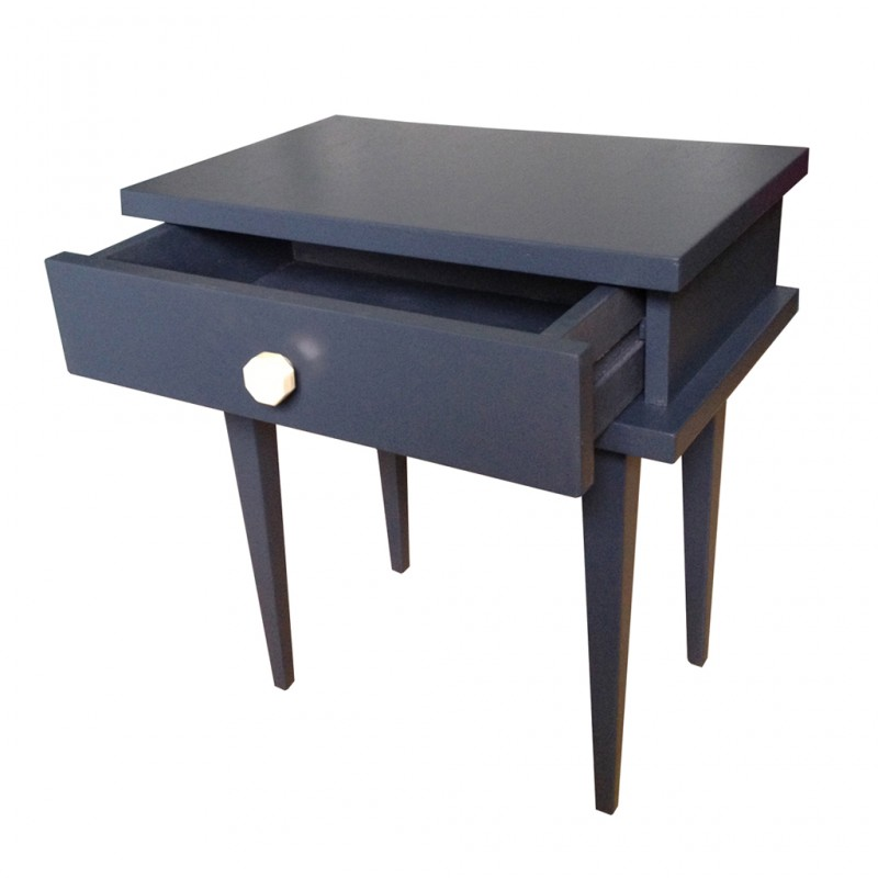 Table de chevet ann e 60 r tro boutique - Table de chevet lumineuse ...