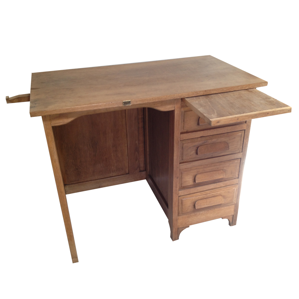 Bureau enfant ann e 30 r tro boutique for Bureau 70 cm largeur