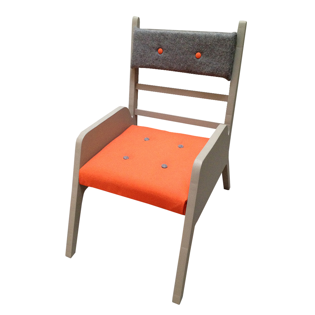 fauteuil comme papa orange 2
