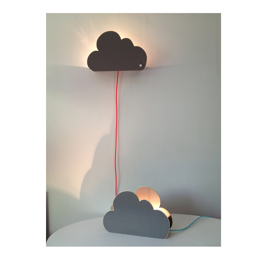 Lampe de table enfant nuage r tro boutique - Lampe de table enfant ...