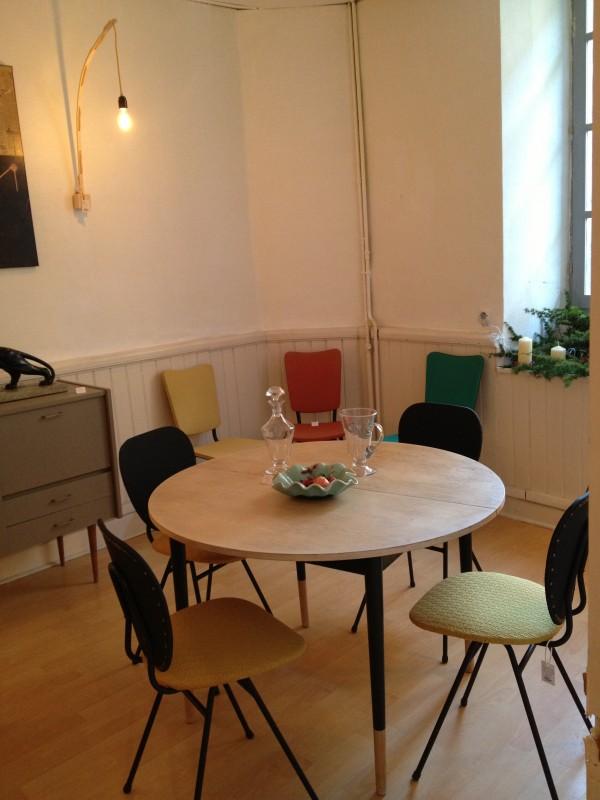 Table et chaises année 60