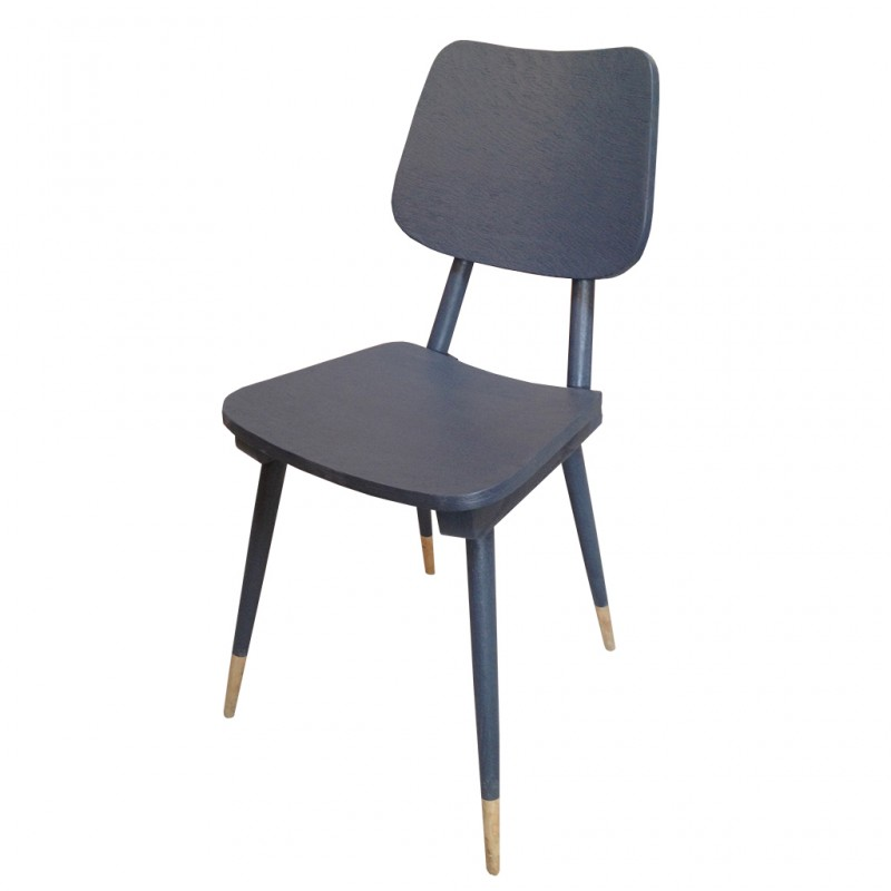 chaise gris ardoise