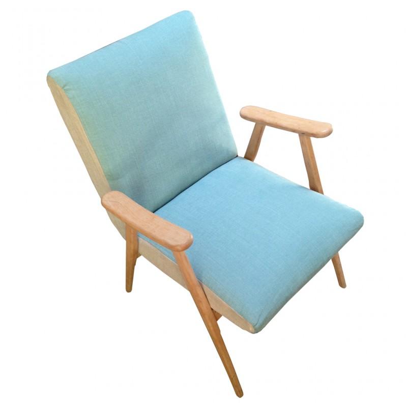 fauteuil scandinave mint