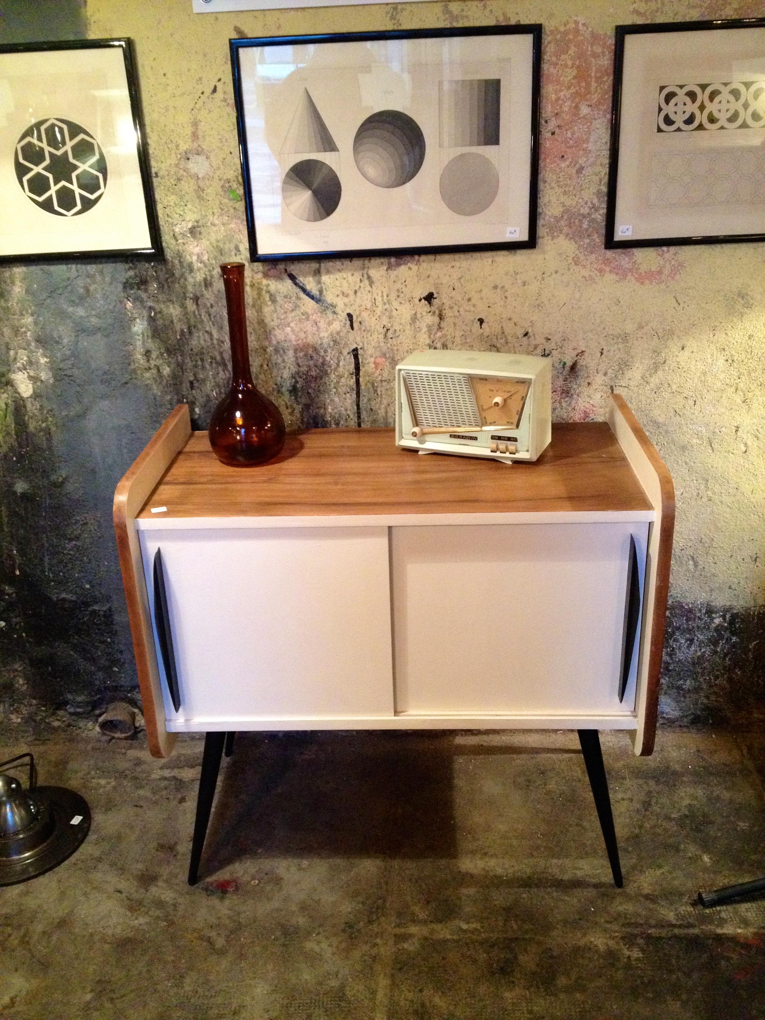 meuble hifi année 60 | rétro boutique